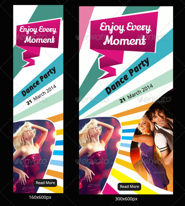 Dance & Music Banner Design