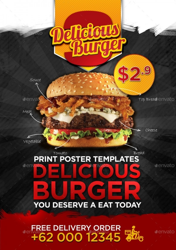 Delicious Professional Editable Flyer Design