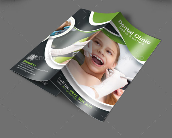 dental trifold brochure design