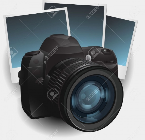 Digital Camera Illustration