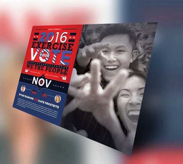 Digital Vote Political Flyer