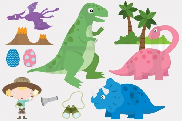 Dinosaur Cartoon Clipart