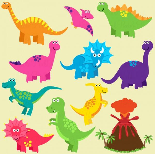 Dinosaur Vector Clipart