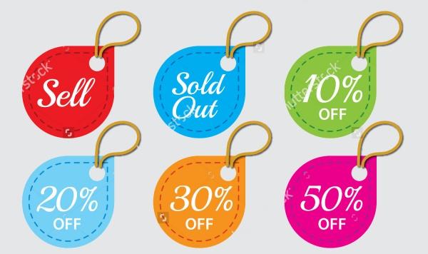 Discount Hang Tag Design