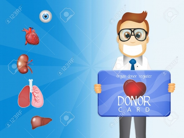 Donor Request Card Design