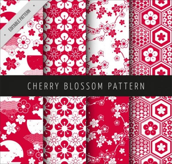 download cherry blossom pattern