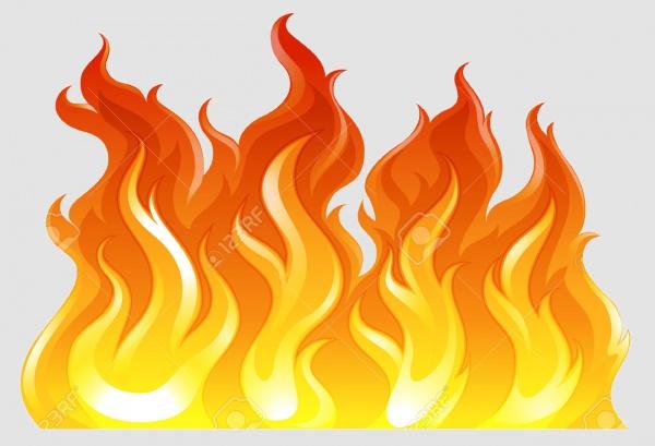 Download Fire Illustration For Desktop