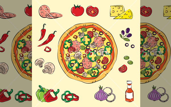 Download Pizza vector For Desktop