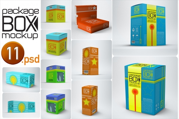 easy fast editing product box packaging