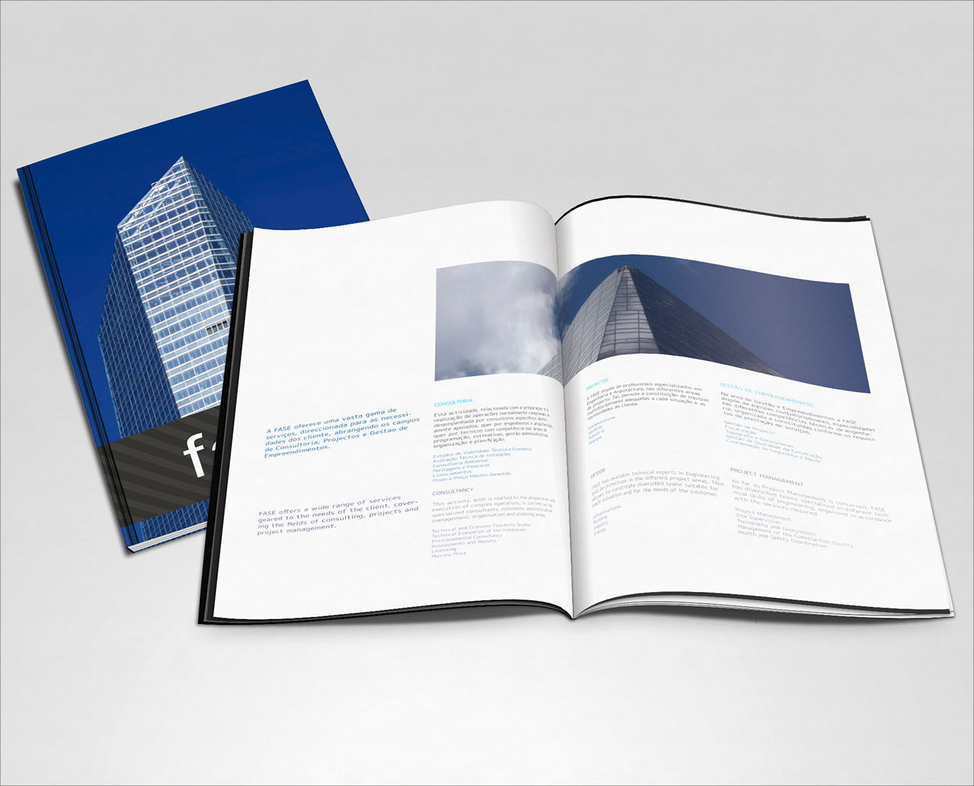 editorial architecture layout brochure