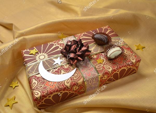 Eid Sweet Box Packaging Design