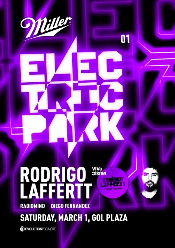 Electric Park Flyer Design