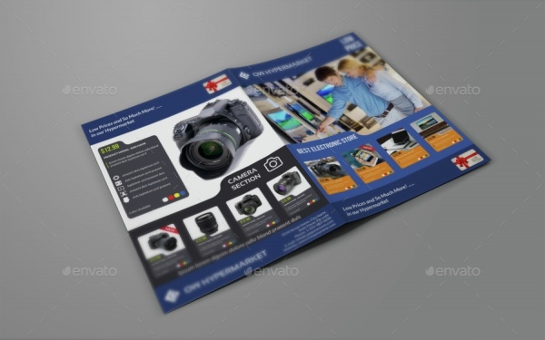 electronic product brochure design