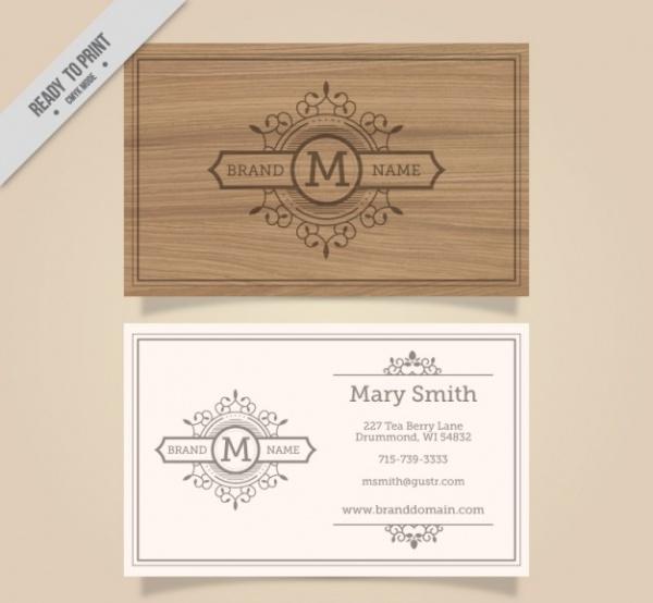 Elegant Corporate Business Card Template