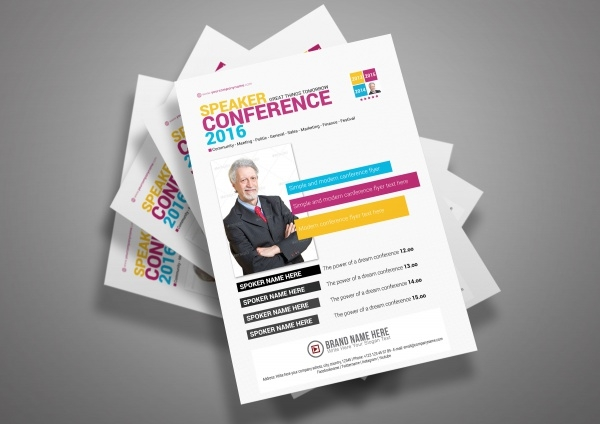 Seminar Flyers Templates  Psd Ai Illustrator Download