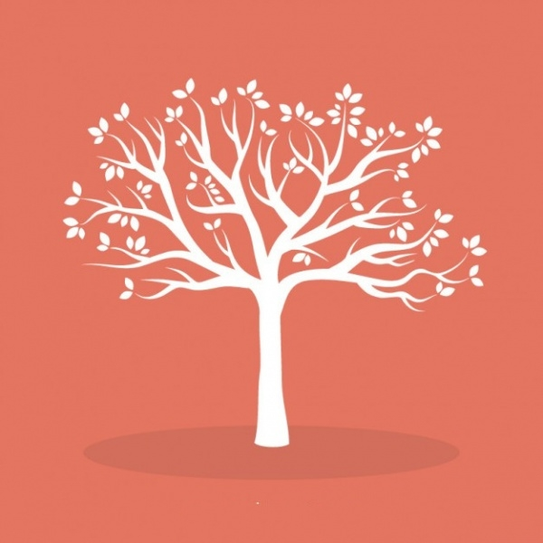 Elegant Tree Illustrative Vector Design