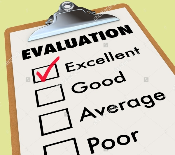 Evaluation Student Report Card