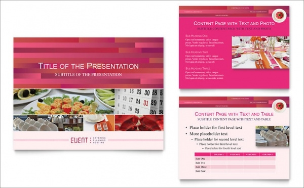 Event Corporate Presentation Template