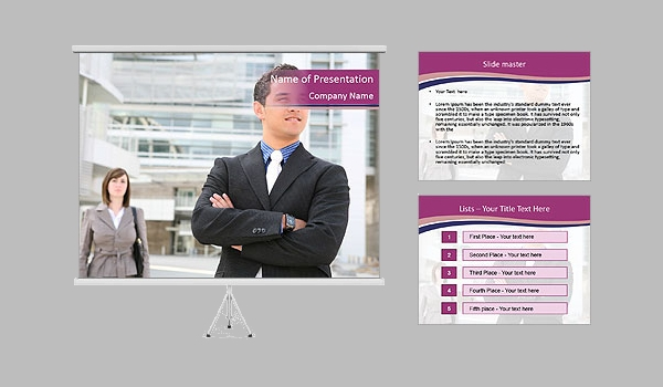 Executive Managers PowerPoint Template
