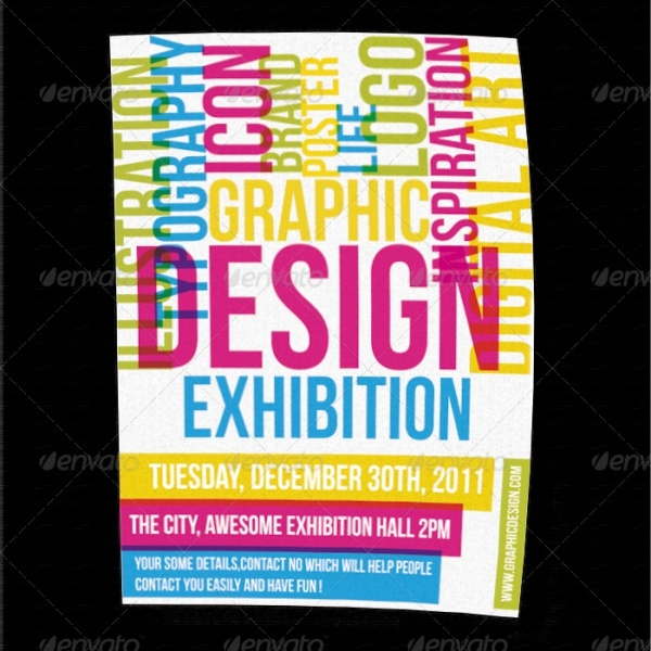 Exhibition PSD Flyer Design