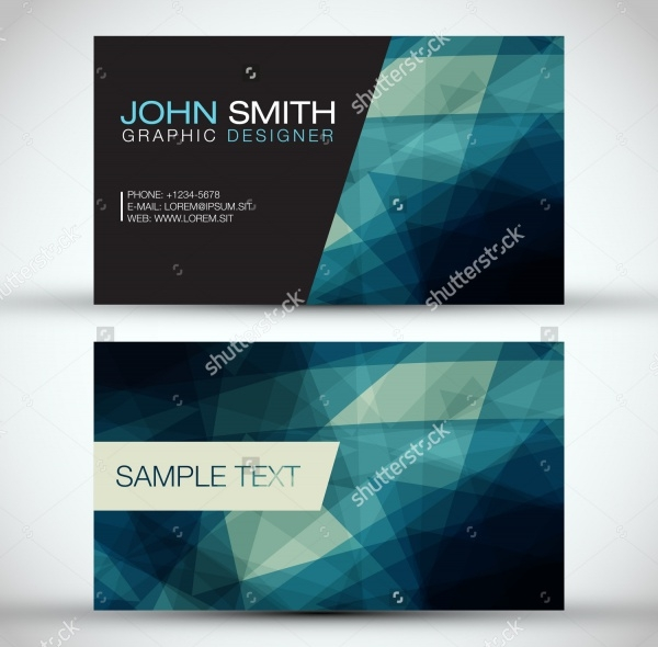 Fabric Name Card Design