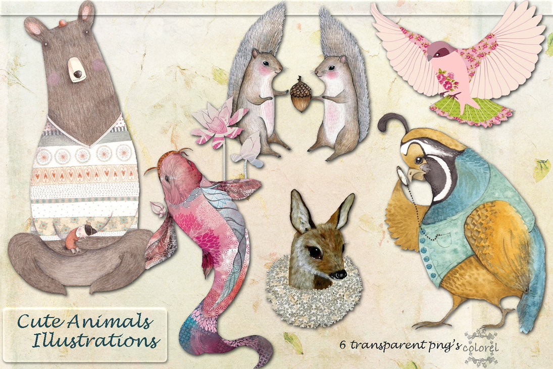Fabulous Animal Illustrative Design