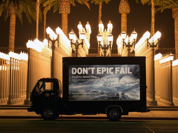 Fail Truck Graphic advertising