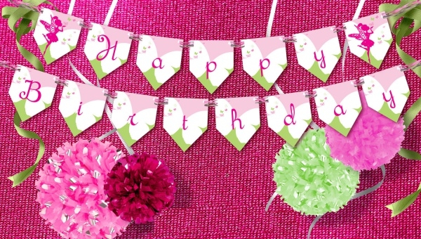 Fairy Happy Birthday Chiqui's Banner