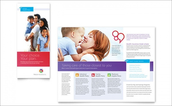 Family Insurance Brochure Template