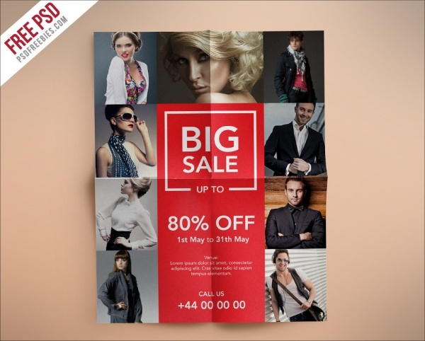 Fashion Retail Sales Flyer