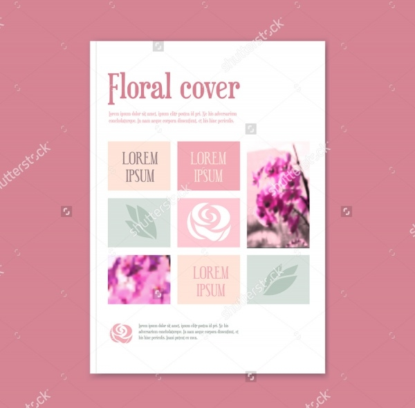 Florist Marketing Brochure Cover