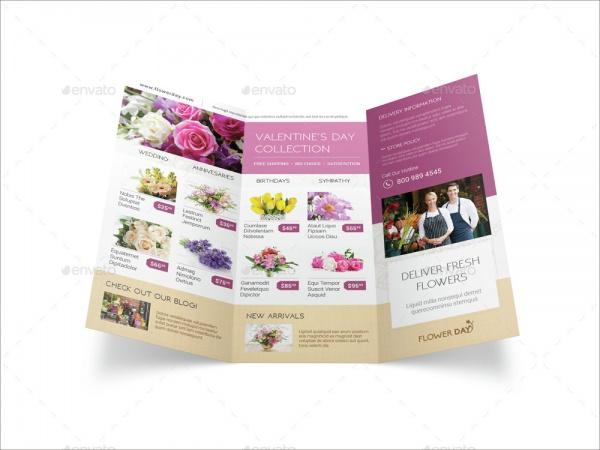 Florist Tri Fold Brochure