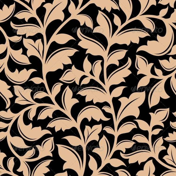Flourish Seamless Floral Pattern