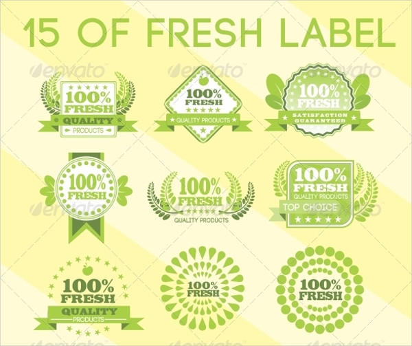 Food Product Label Design