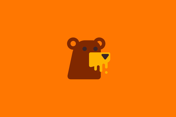 Forest Honeybear Wild Logo