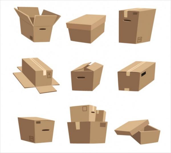 Free Cardboard Cartoon Boxes