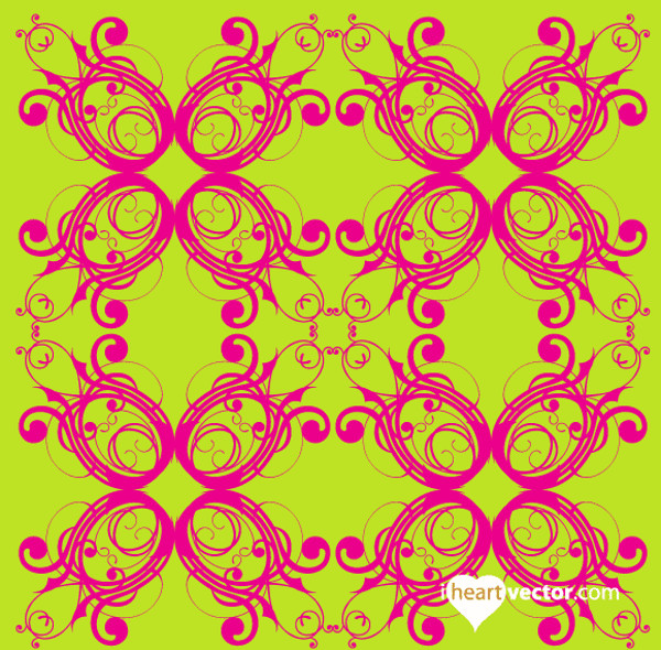 Free Flourish Pattern Vector