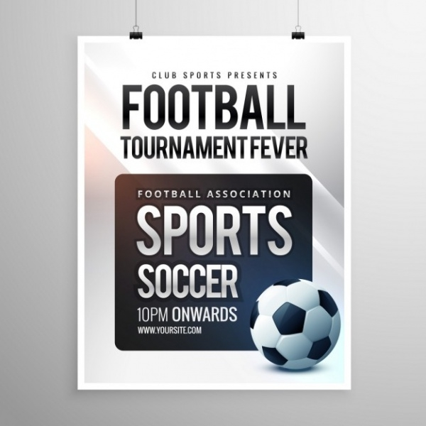 Free Football Tournament Invitation Design