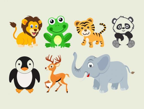 Free Funny Animals Illustrations