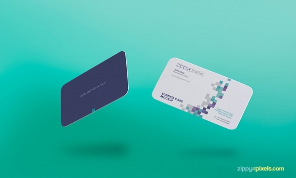 Free Gravity Business Card Design