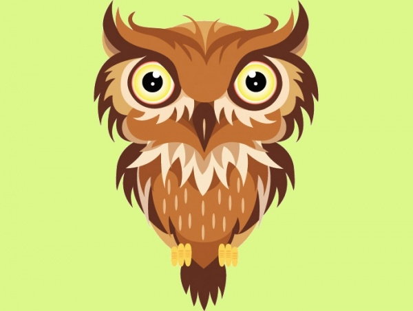 Free Owl Vector Design