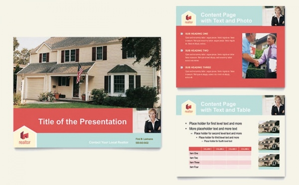 Home Real Estate Presentation Template