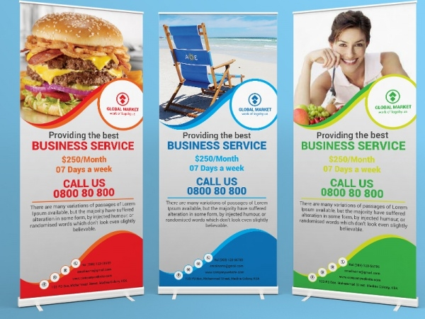 Global Mark Business Roll Up Template