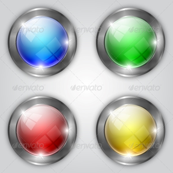Glossy Download Buttons