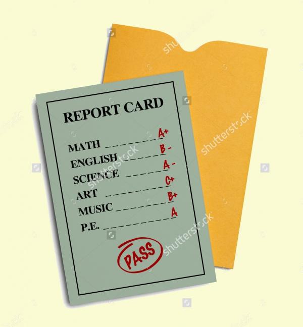 Green Preschool Report Card