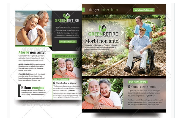 Green Retirement Homes Flyer