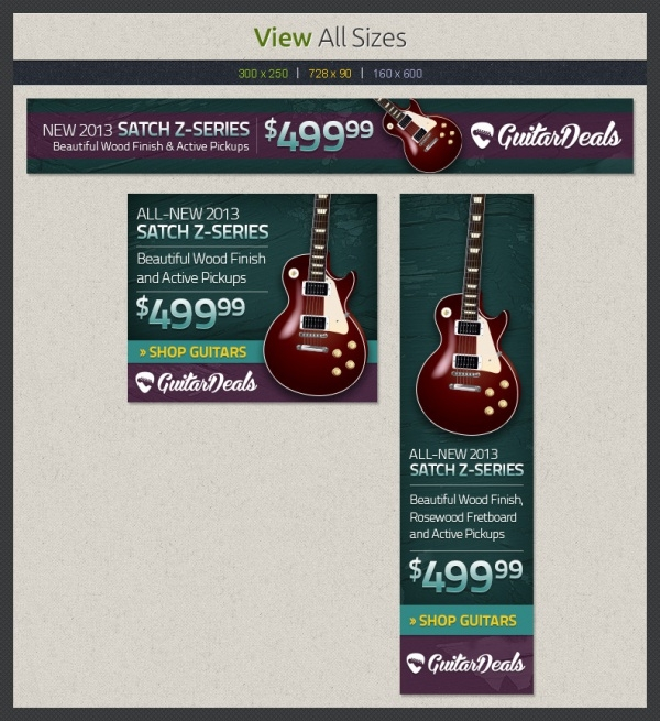 Guitar Music Web Banner
