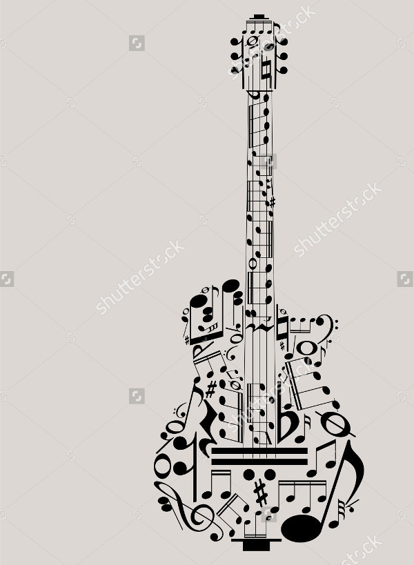 Guitar Vector For You