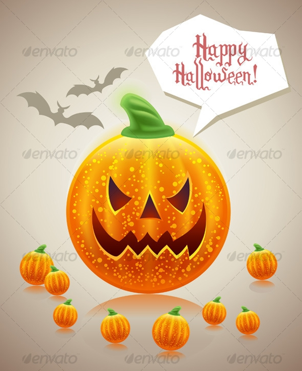 Halloween Funny Holiday Card Design