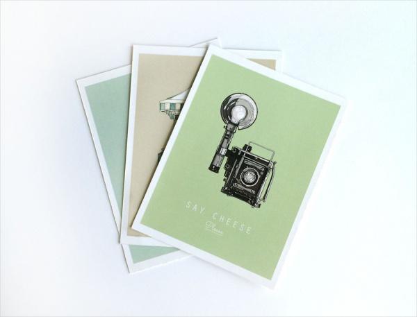 Hand made Post Card Set